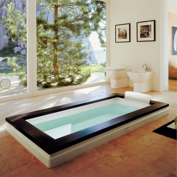 View In Gallery Exquisite Bathroom Design With Spa Styled Atmosphere