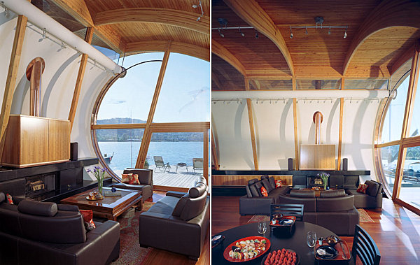 Fennell Residence floating house