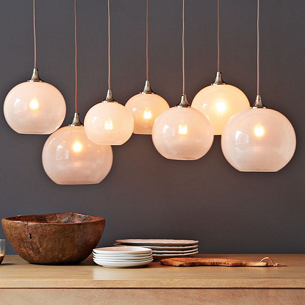 View In Gallery Glass Orb Pendant Lighting