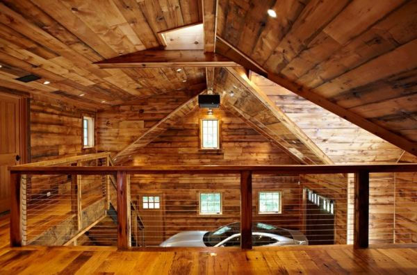 In Floor Radiant Heat And Peripherals Controlled By Handheld Gadgets Give This Garage A Modern
