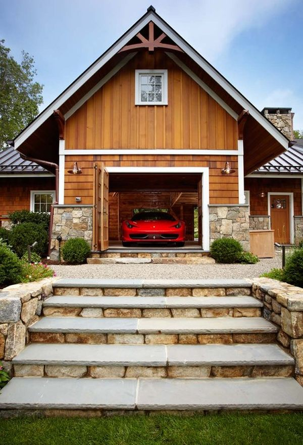 Parked to perfection stunning car garage designs for Luxury garage plans