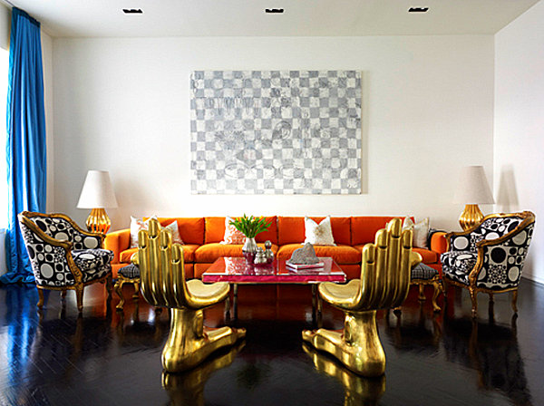 From winter decor to spring decor the best transitional for Jonathan adler interior design