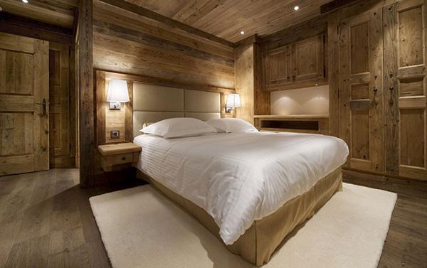 Les Gentians 1850 – Courchevel Ski Chalet – bedroom