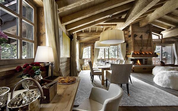 Les Gentians 1850 – Courchevel Winter Ski Chalet