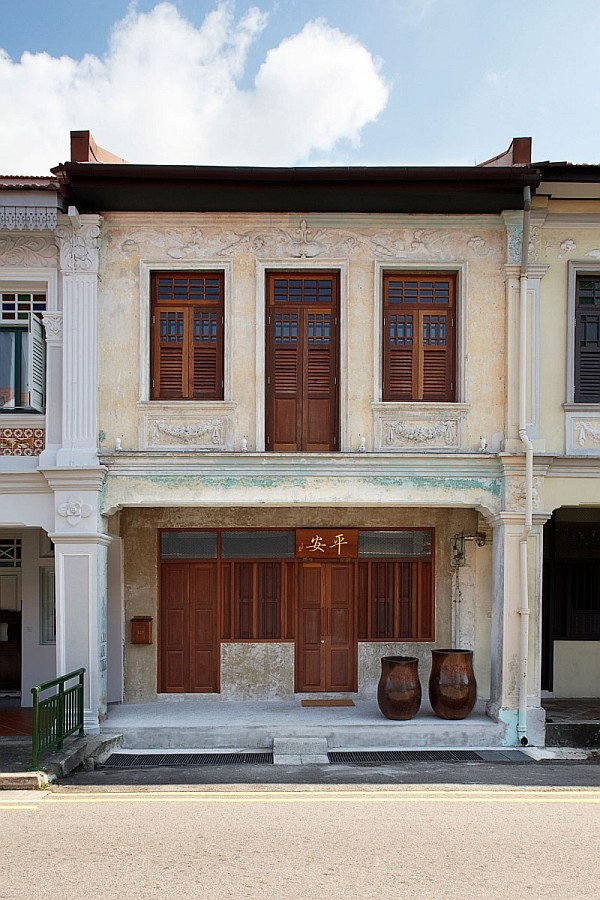 Lucky Shophouse by CHANG Architects 1 Lucky Shophouse: Ravishing Renovation in Singapore Aims to Restore Nostalgic Past