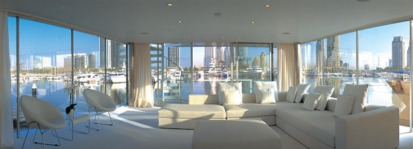 View In Gallery Luxury Houseboat