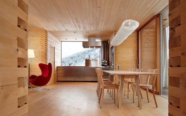 Modern wood kitchen  (3)