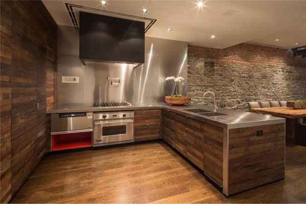 Modern wood kitchen  (9)