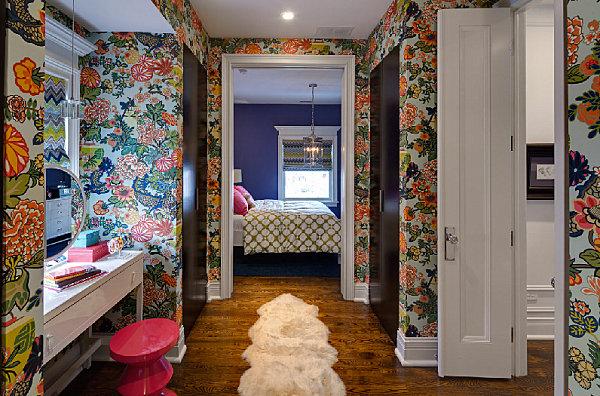 Monaco blue bedroom walls