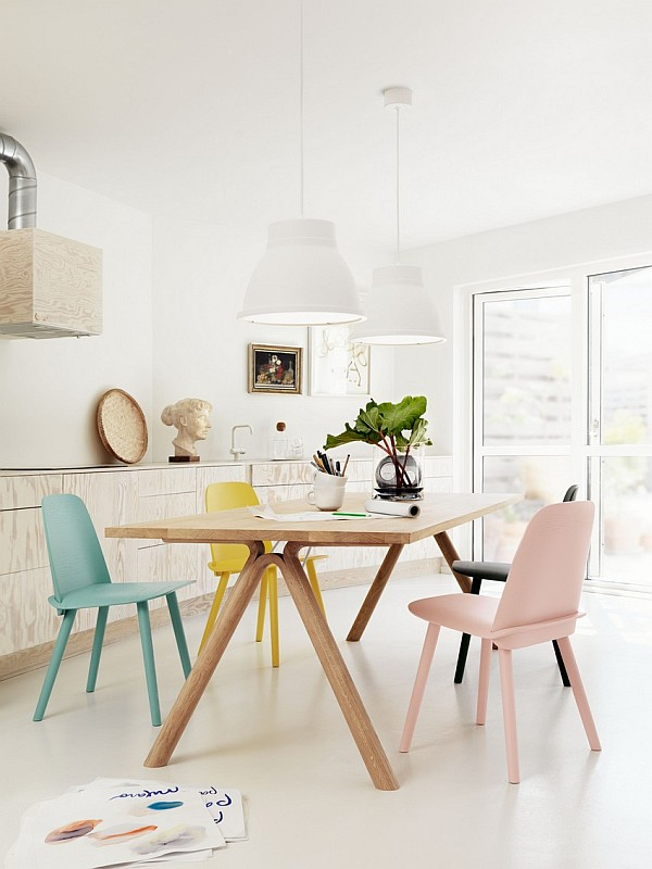 Muuto scandinavian design - dining area