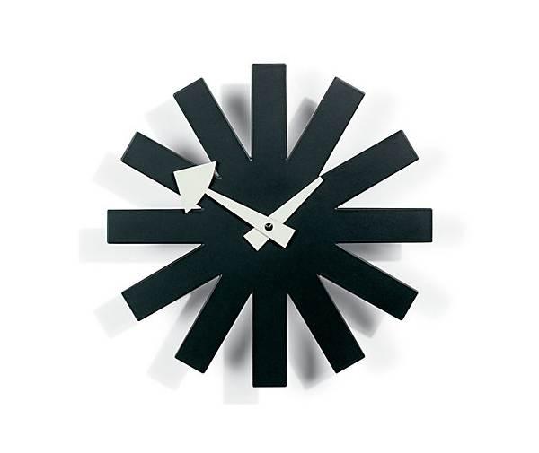 Nelson Asterisk Clock