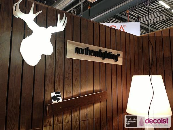 Northern Lighting - Plank lamp