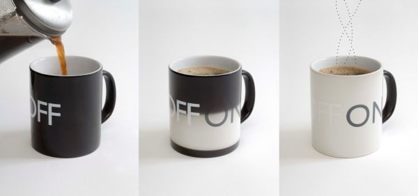 On Off Coffee Mug 16 Cool Coffee Cup Designs For a Creative Refill