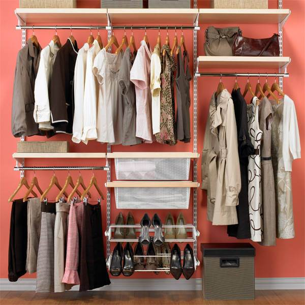 Organized closet How to Declutter Your Home