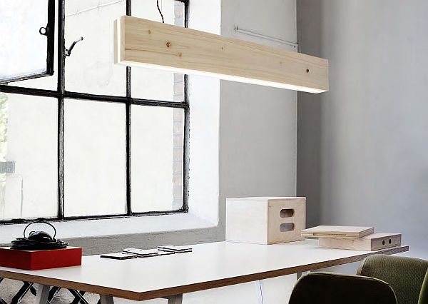 PLANK wooden Lamp - Northern Lighting