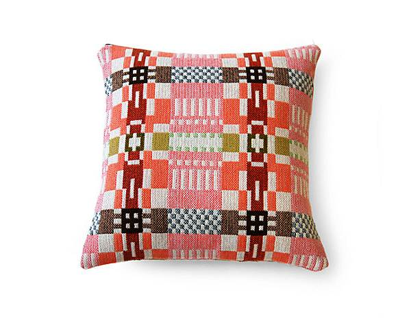 Patterned modern pillow