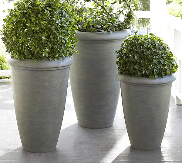 Planters for greenery