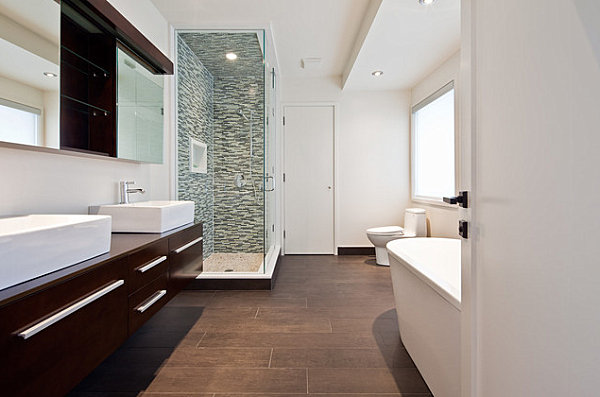Attractive View In Gallery Porcelain Tile With The Look Of Wood Part 12