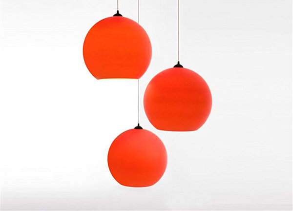 red pendant lighting. view in gallery red polycarbonate pendant light lighting