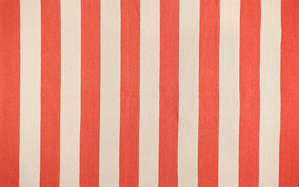 Red striped rug New Patterned Rug Finds for Your Interior