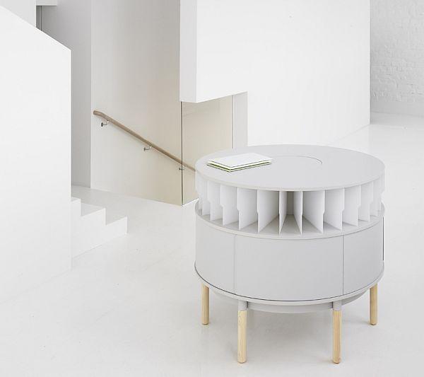 Rondell stationary mail-hub Note Studio Design