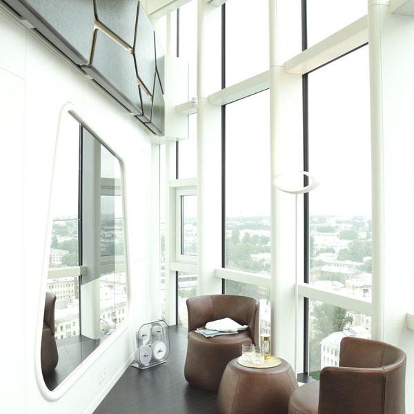 Saint Petersburg penthouse livingroom