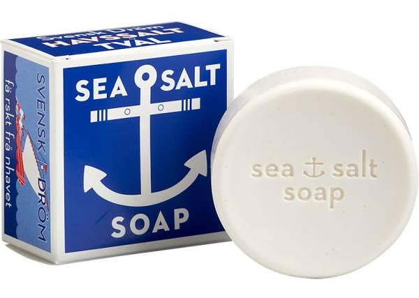 Sea salt soap for shaving