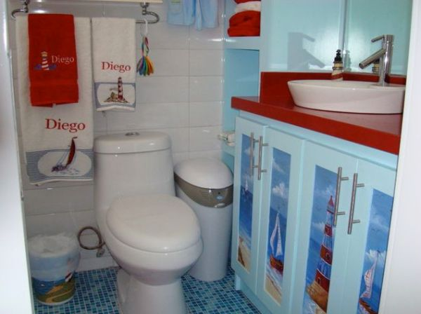 Women S Nautical Bathroom Decor Ideas: 23 Kids Bathroom Design Ideas To Brighten Up Your Home