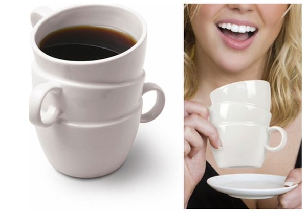 view in gallery when one cup is just not enough - Cup Design Ideas