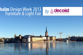 Stockholm Design Week & Furniture Fair 2013: Beautiful Scent of Scandinavian Inspiration