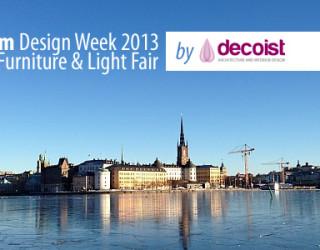 Stockholm Design Week & Furniture Fair 2013: Beautiful Scent of Scandinavian Inspiration