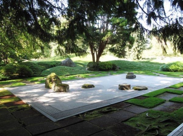 Stunning Japanese garden exudes a soothing vibe perfect for finding inner peace
