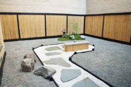 Stylish Japanese garden taking shape in the heart of Manhattan