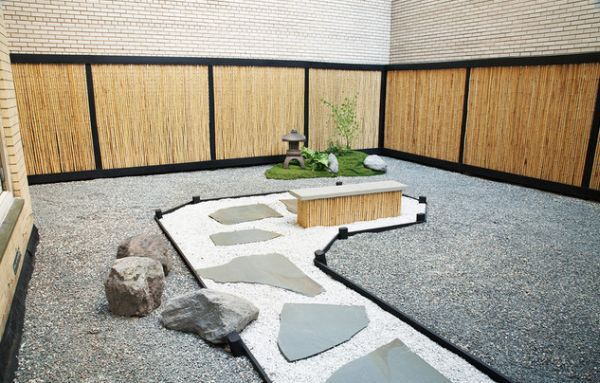 View In Gallery Stylish Japanese Garden Taking Shape In The Heart Of  Manhattan