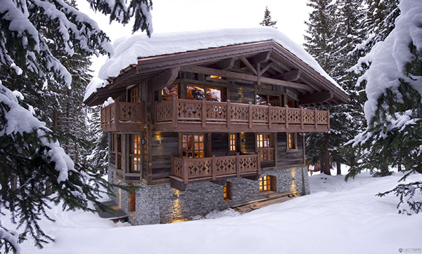 Traditional Courchevel Ski Chalet