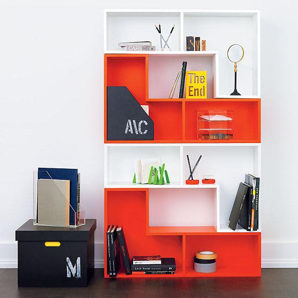 Vivid modular shelf