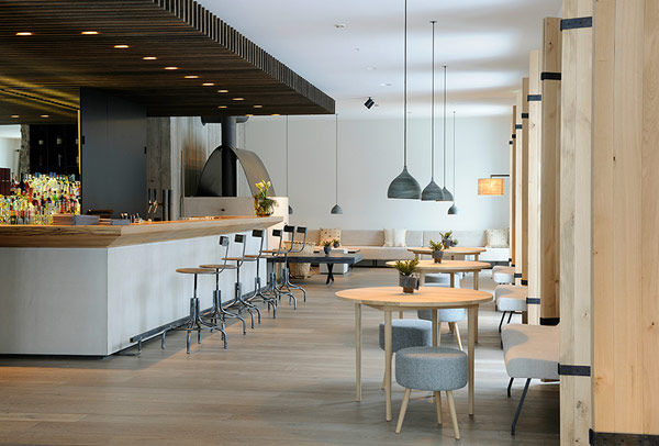 Wiesergut design hotel modern minimalism amidst majestic for Designhotel 21