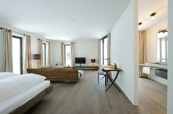 Wiesergut design hotel 4 decoist for Minimalist hotel design