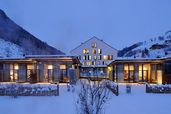 Wiesergut design hotel modern minimalism amidst majestic for Design boutique hotels in austria