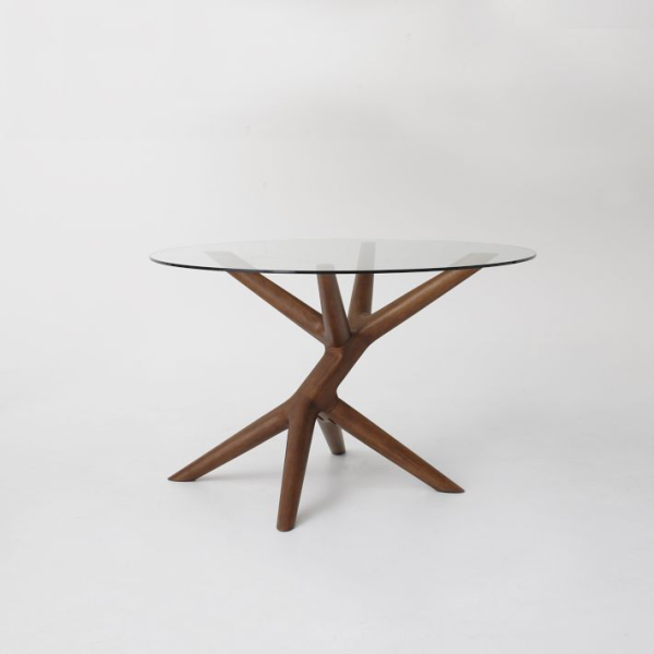 Wooden branchy table