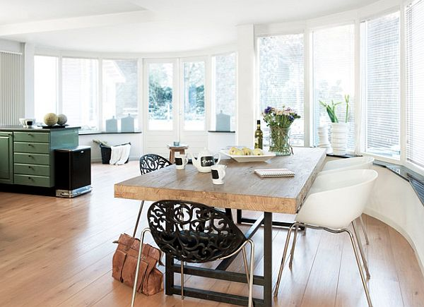 beautiful kitchen table 17 Kitchen Tables With Subtle Charm