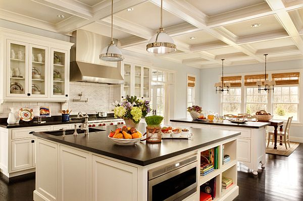 beautiful white traditional kitchen Transform Your Kitchen Without Breaking The Bank: Heres How!