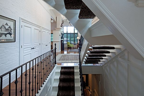 View In Gallery Beautiful Wrought Iron Stairs Railings For The Home