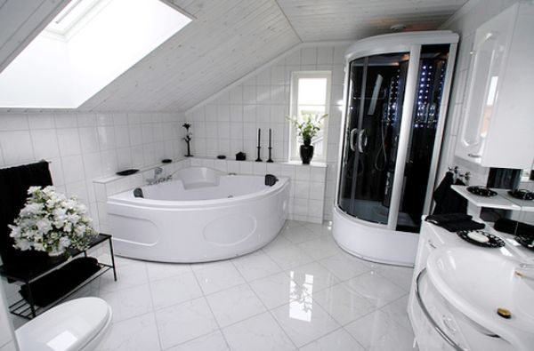 Black Luxury Modern Bathroom black luxury modern bathroom renovations with decorating