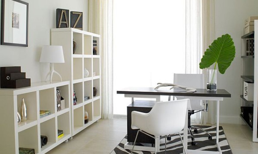 Bringing Springtime to Your Cold Winter Home Office
