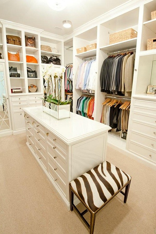 closet with island DIY Closets That Stun With Aesthetics