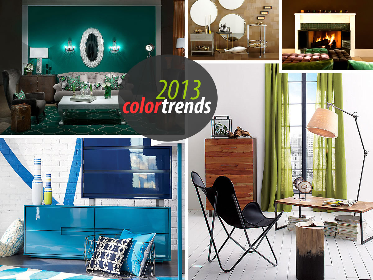 New interior design trends for 2013