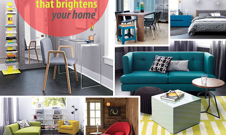 New Colorful Furniture Finds to Brighten Your Home