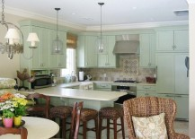 colorful kitchen cabinets pastel