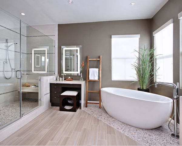 contemporary Incredible Bathroom Designs Youll Love